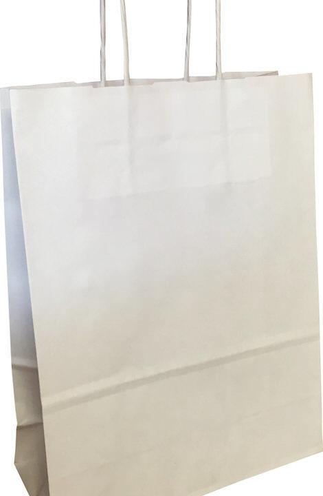 sac kraft blanc lisse