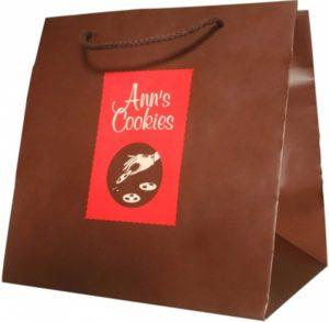 sac luxe pelliculage mat ann's cookies
