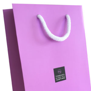 Sac papier luxe thermes