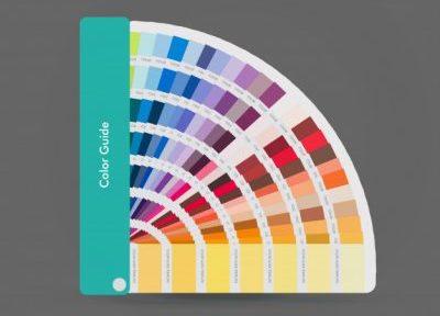 Nuancier des couleurs Pantone pour imprimer des sacs en papier