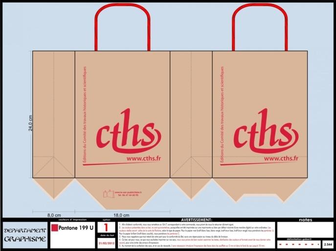 BAT sac en papier CTHS