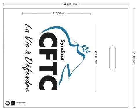 BAT sac en plastique personnalisé CFTC