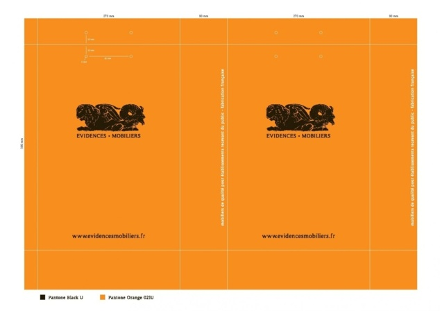 BAT sac luxe Evidence Mobilier BAG_270x390x90_ORANGE_2012_04_27