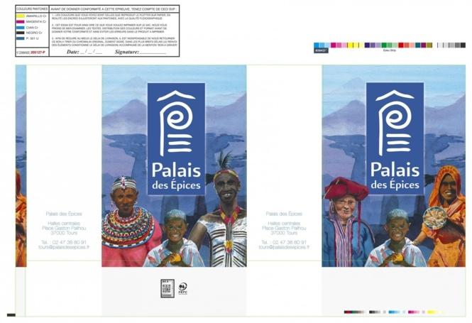 BAT sac papier personnalisé PALAIS DES EPICES