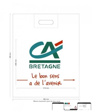 BAT Sac Plastique CA de BRETAGNE