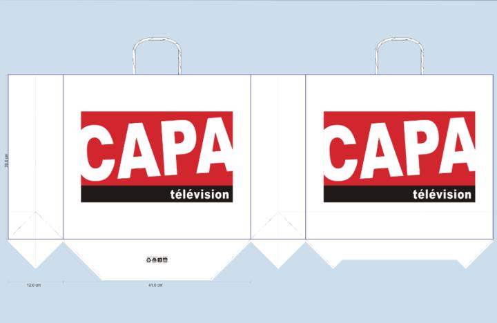 BAT sac publicitaire capa télévision
