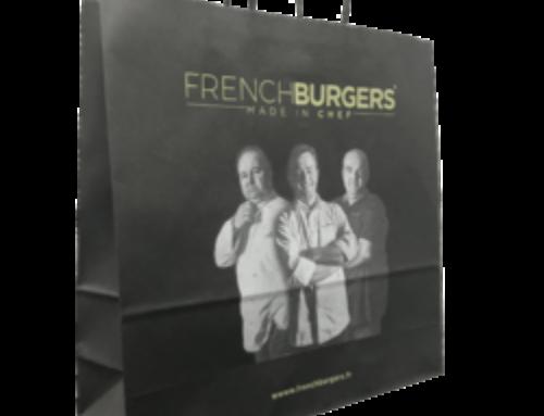Le sac papier personnalisé de French Burgers