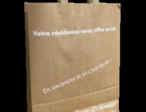 Des sacs en papier kraft pour activités de vacances