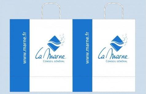 BAT sac papier kraft La Mane