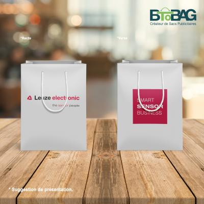 mock up sac papier luxe
