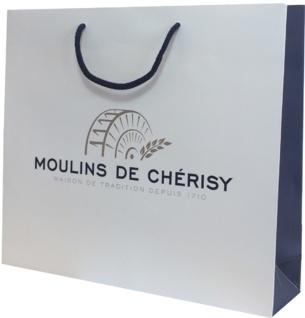 Sac luxe pelliculage mat Moulins de Chérisy