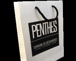 sac papier luxe cordelette en coton Domaine de Penthes