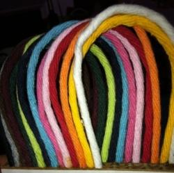 Poignées torsadées Coton sac en papier