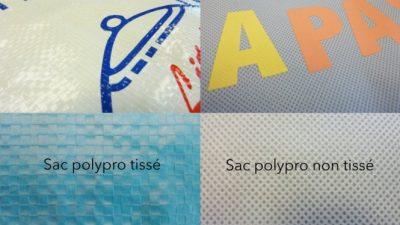 présentation des différents polypro tissé et non tissé, pélliculé et non pélliculé