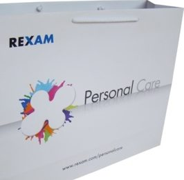 Sac papier publicitaire luxe Rexam