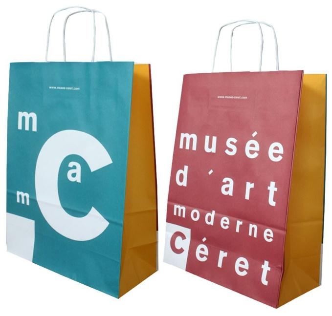 Sac en papier Musée Art Moderne de Céret