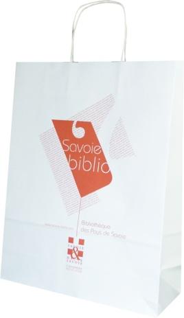 sac en papier Savoie Biblio
