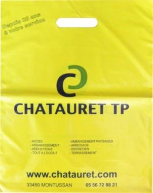 sac en plastique Chatauret TP