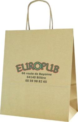 sac kraft; sac papier; Europub