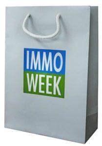 sac papier luxe pelliculé immo week