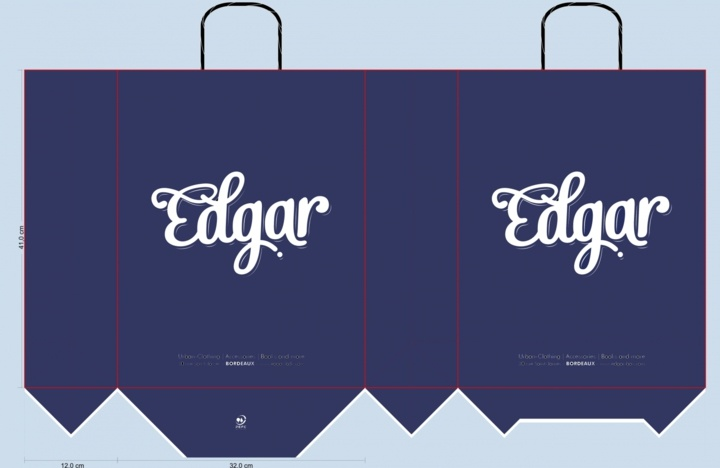 sac papier edgar