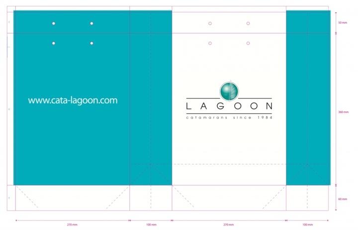 sac papier luxe BAT lagoon