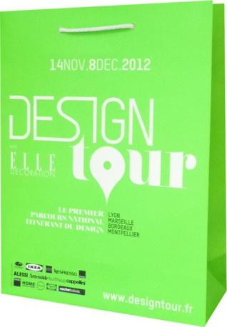 sac papier luxe Design tour 2012