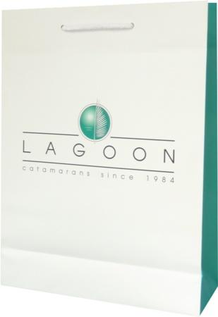 sac papier luxe Lagoon catamaran