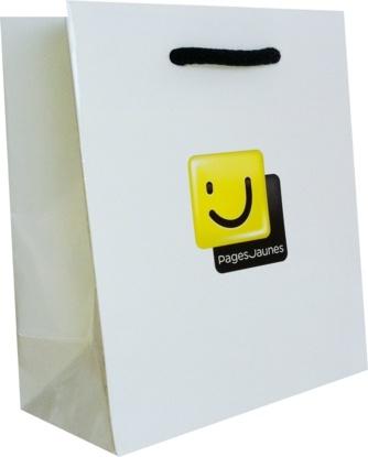 sac papier luxe pages jaunes