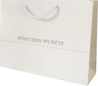sac papier luxe pelliculé séduction secrète