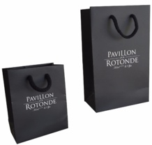 un exemple de sac papier luxe personnalise