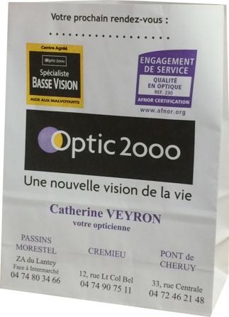sac papier Opitc 2000