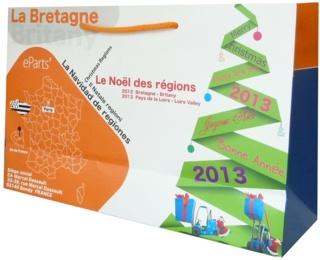 Sac papier personnalisé Epart's La Bretagne