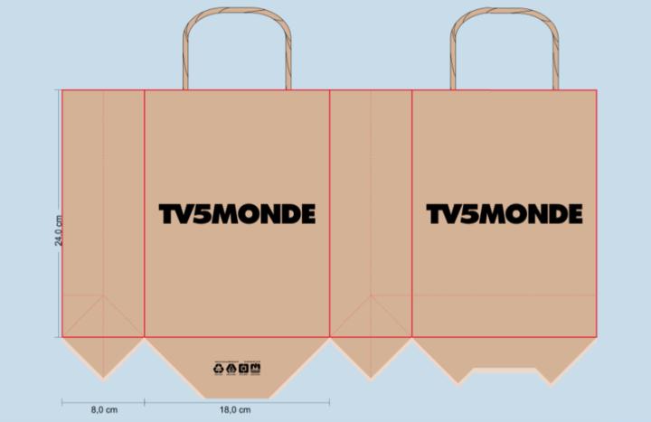 sac papier personnalisé; sac publicitaire; sac papier