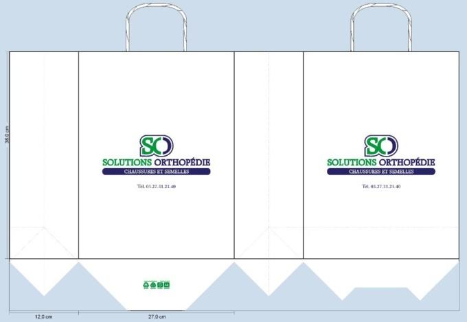 Sac papier personnalisé Solutions Orthopédie