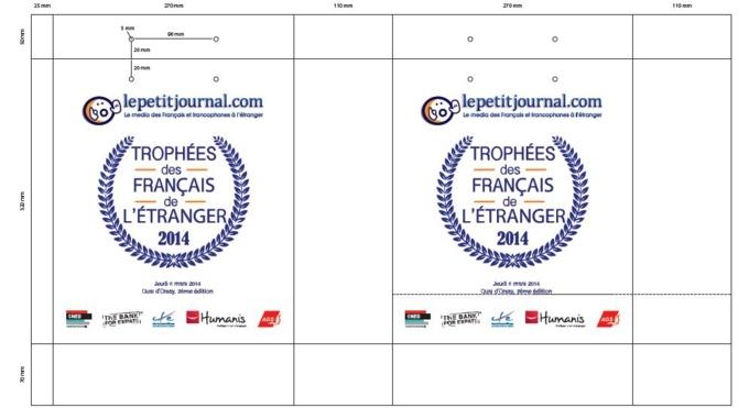 Sac papier publicitaire Le Petit Journal.com BAT
