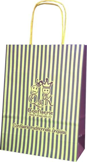 sac papier Q *et* K