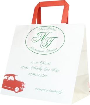 sac papier traiteur