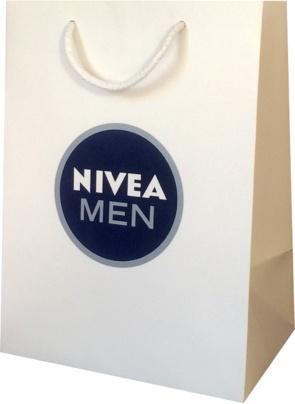 sac personnalisé produits cosmétiques Nivea Men
