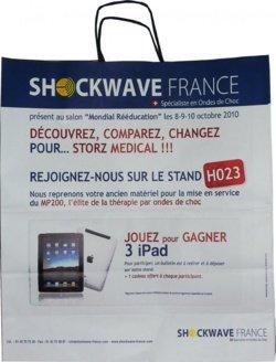 sac personnalisé Shockwave