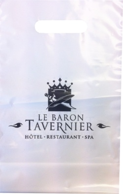 sac plastique Le baron tavernier