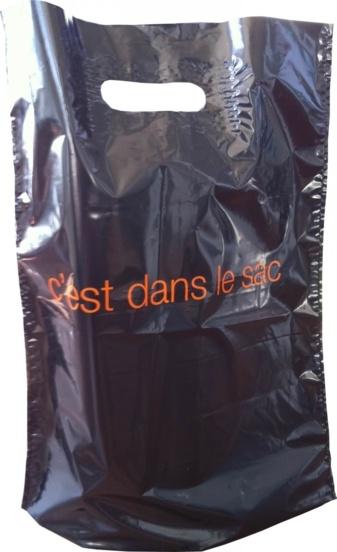 Sac Plastique Orange Verso
