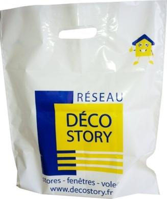 sac plastique pas cher déco story