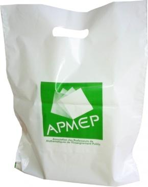 sac plastique personnalisé APMEP