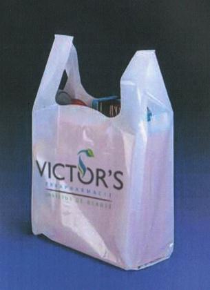 sac plastique poignées bretelles