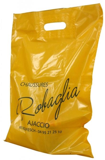 Sac plastique découpées renforcées Robaglia Ajaccio