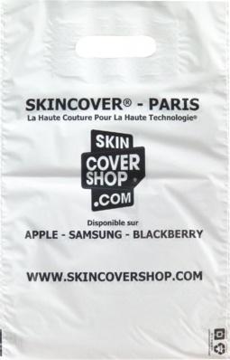 sac plastique, skincover paris