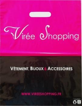sac plastique Virée shopping