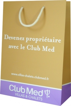 Sac publicitaire club med Club med 3
