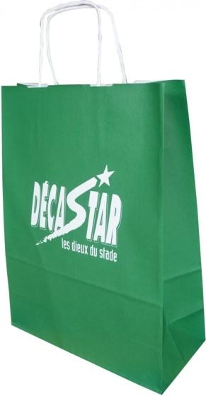 Sac publicitaire en papier Deca Star